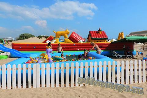Пляж Джемете вход с Джеметинского проезда зона для детей