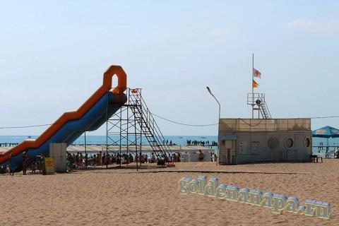 Пляж Джемете вход с Джеметинского проезда