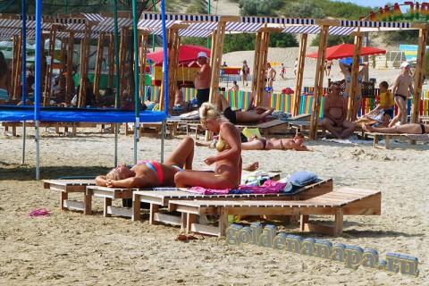 Пляж Джемете вход с Джеметинского проезда отдыхаюшие