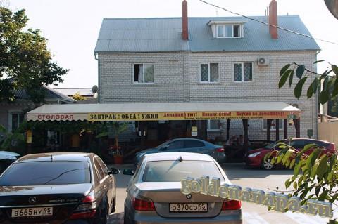Анапа летняя столовая на пересечении ул. Гоголя и Таманской