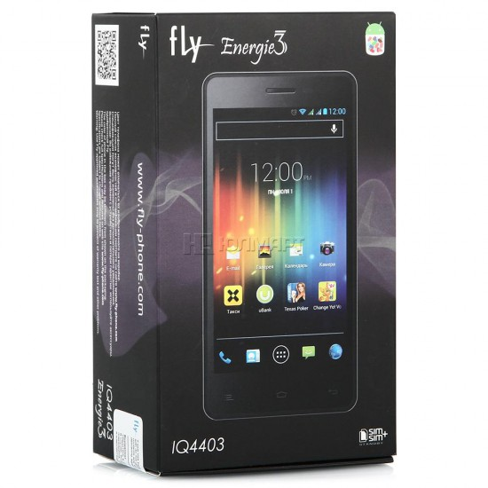 Смартфон Fly IQ4403 Energie 3 black