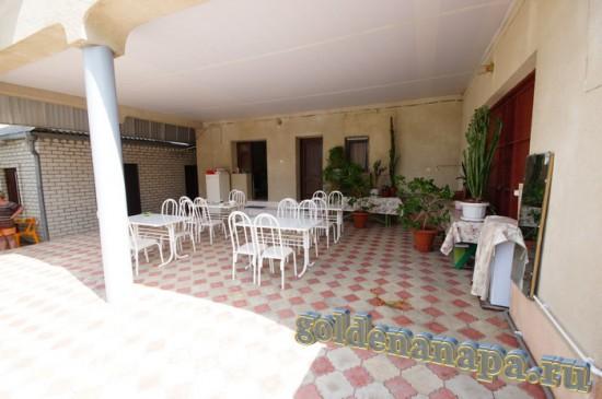 """Анапа гостевой дом """"Даниэлла"""" места для отдыха и приема пищи"""