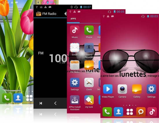 """Xpreen M2W 4.7"""" Capacitive TNT Touch Screen 854x480"""
