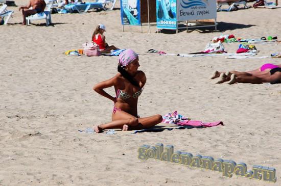 """Джемете пляж отеля """"Белый пляж"""""""