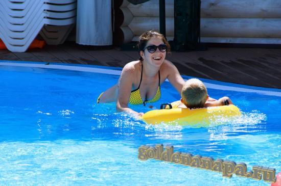"""Джемете отель """"Белый пляж"""" бассейн для детей"""