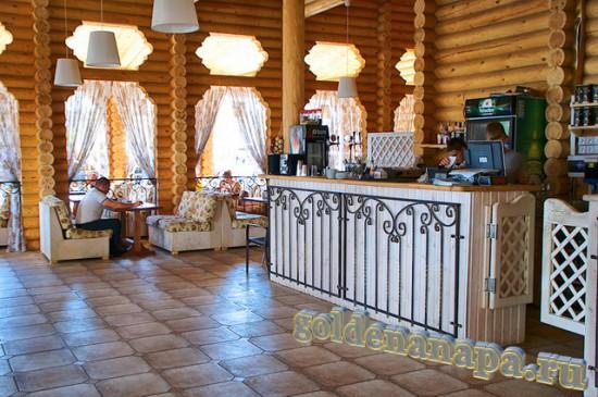 """Джемете отель """"Белый пляж"""" ресторан"""
