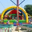 Анапа городской пляж август детские аттракционы