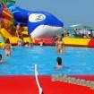 Анапа городской пляж аттракцион с бассейном для детей август