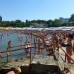"""Анапа пляж """"Высокий берег"""" рядом с санаторием """"Русь"""""""