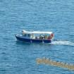 Анапа прогулочный катер вид с Высокого берега