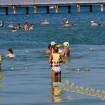 Пляж Витязево начало августа море