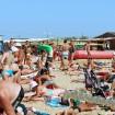 Пляж Витязево начало августа